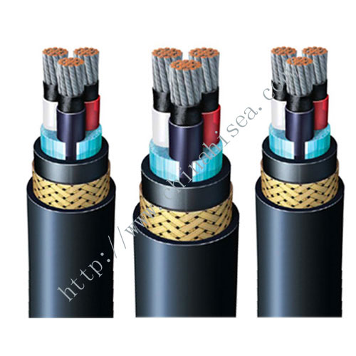 BFOU Halogen free flame retardant offshore power cable