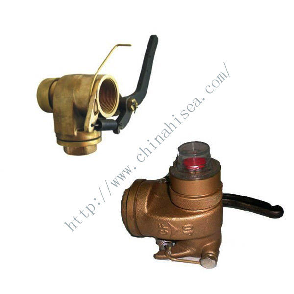 Marine Bronze Self-Closing Gate Valve Head for Sounding Pipe JIS F 3019.jpg