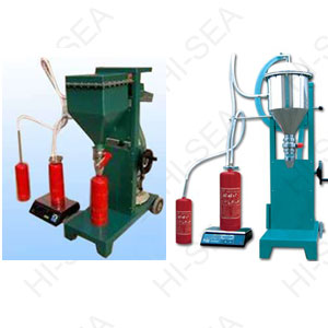 GFM16-1 Fire extinguisher dry powder filling machine