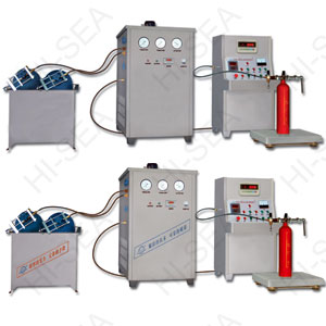 GTM-B Fire extinguisher Co2 filling machine