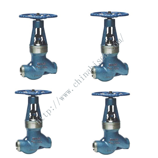 High Temperature High Pressure Power Station Globe Valve In Factory