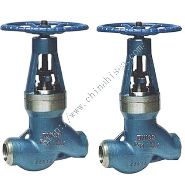 High Temperature High Pressure Power Station Globe Valve