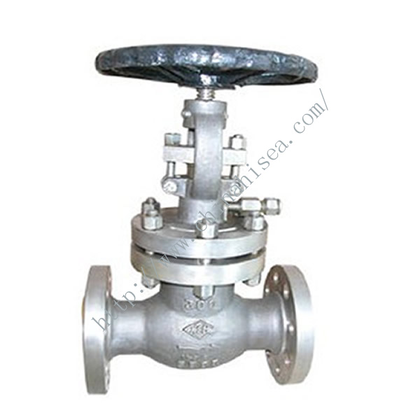 900LB Cast Steel Globe Valve In Warehouse