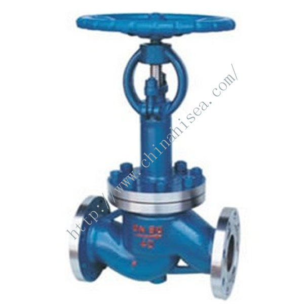 Low Temperature Globe Valve Real Picture