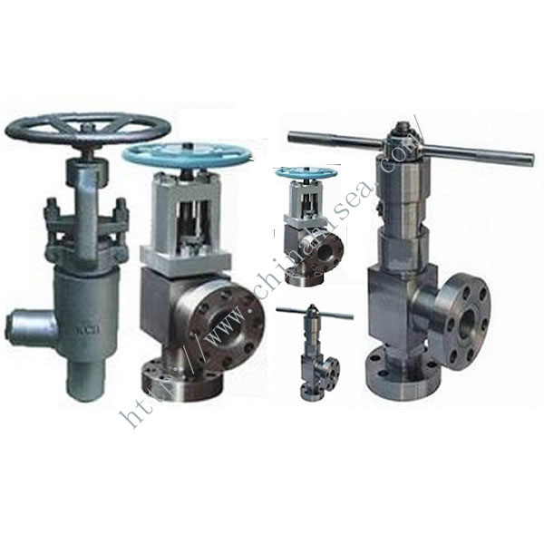 High Pressure Angle Stop Valve In Factory
