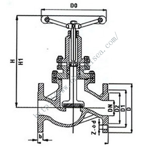 Zero Leakage Stop Valve Drawing