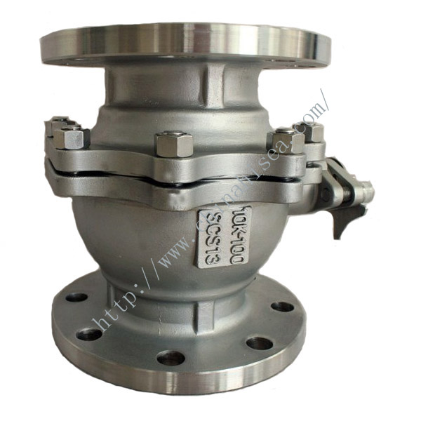 marine stainless steel ball valve
