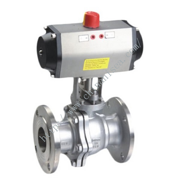 API 6D Pneumatic Ball Valve