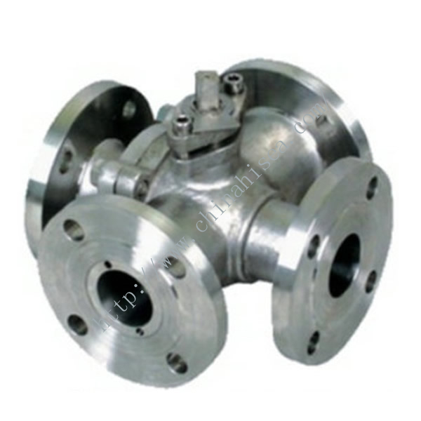 Four Way Pneumatic Ball Valve Body