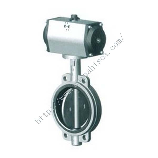 Pneumatic Clamp Butterfly Valve Model