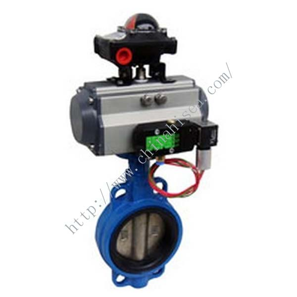Pneumatic Clamp Butterfly Valve