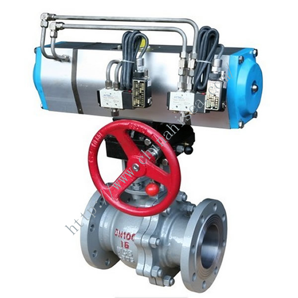 Three Position Pneumatic Ball Valve