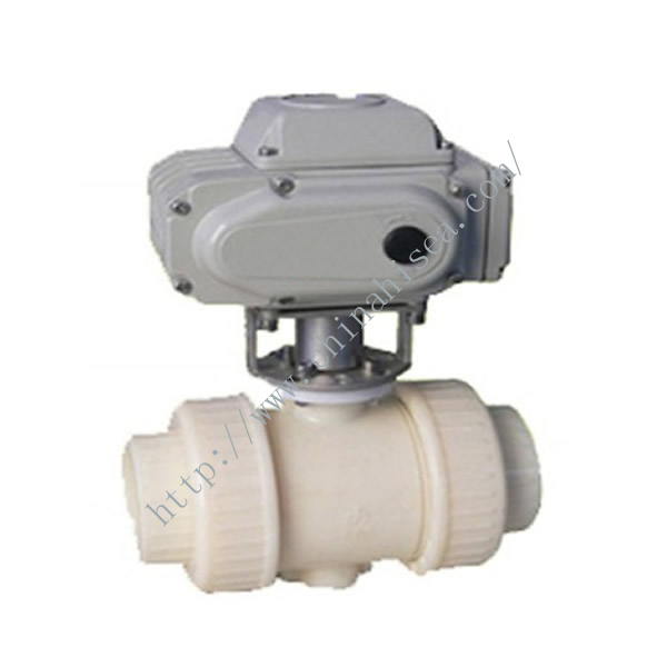Electric Plastic Ball Valve Working Theory