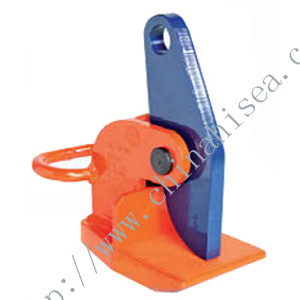 Horizontal Lifting Clamps: Jaw opening range 0 to 120mm