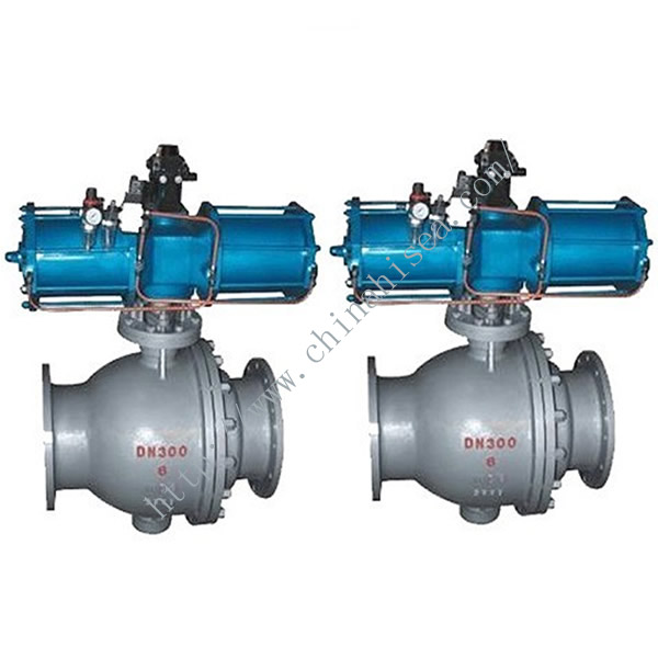 Pneumatic Dust Discharge Ball Valve