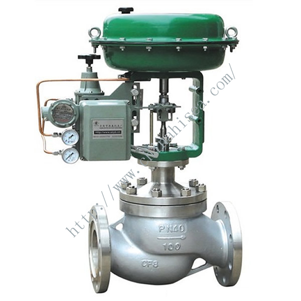 Pneumatic Diaphragm Control Valve Green