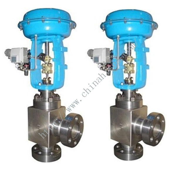 Pneumatic Diaphragm High Pressure Angle Regulating Valve In Warehouse