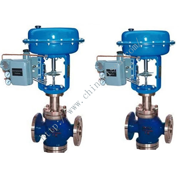 Pneumatic Diaphragm Three Way Regulating Valve