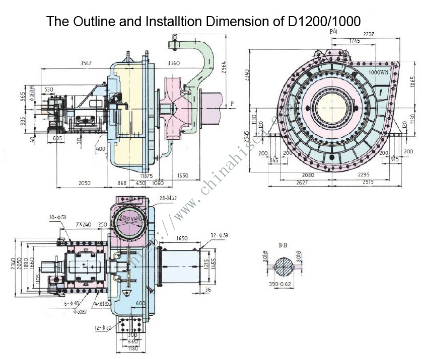 The Outline and Installtion Dimension of D1200-1000.jpg