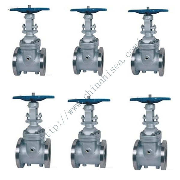 Carbon Steel Gate Valve In Factory