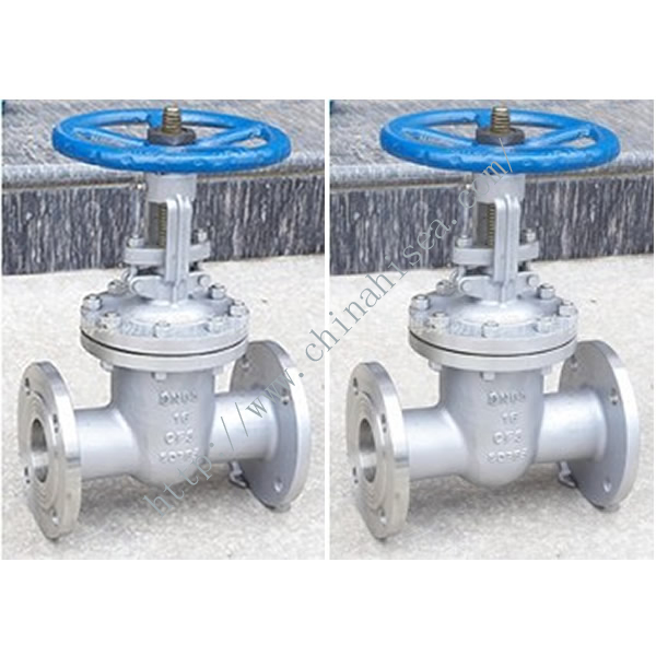 Flange Stainless Steel Gate Valve In Factory