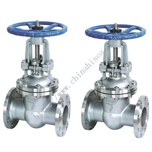 Flange Stainless Steel Gate Valve Sample