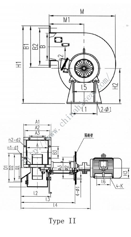 Marine Centrifugal Fan : Marine explosion proof centrifuge fan