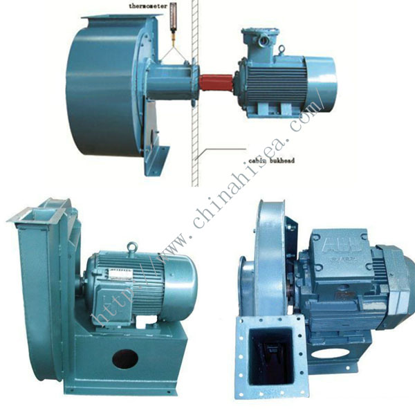 Centrifugal Air Blower : Explosion proof marine centrifugal air blower