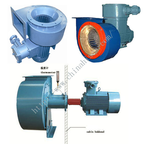 Centrifugal Fans And Blowers : Marine explosion proof centrifugal fans and blowers