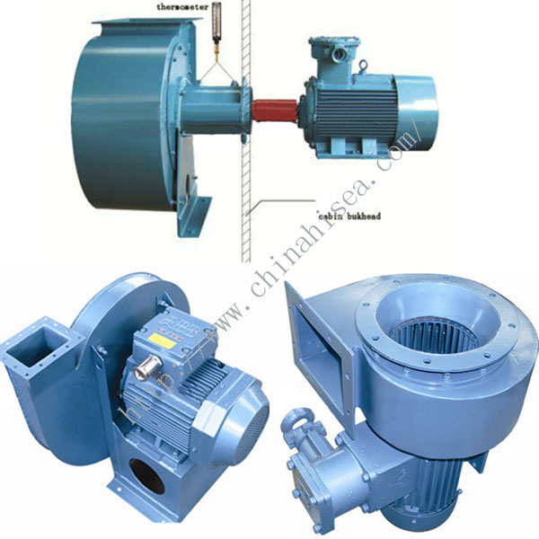 Marine Explosion Proof Centrifuge Fan
