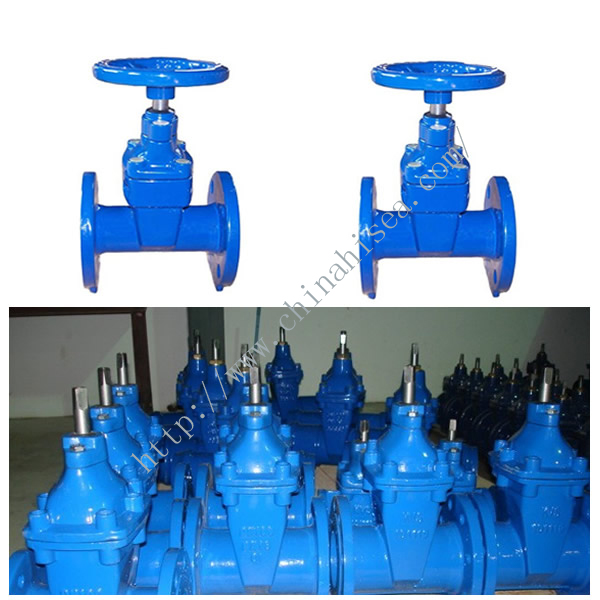 Rising Stem Cast Iron Gate Valve In Factory