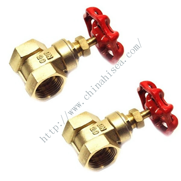 Brass Screw Thread Gate Valve Profile