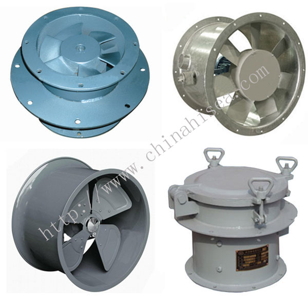 Small Axial Fans : Marine axial ventilation fan