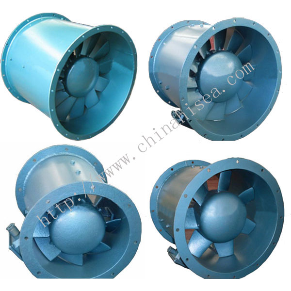 Marine Low Noise Axial Fan