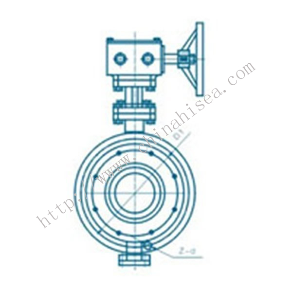 API Butterfly Valve Drawing Picture