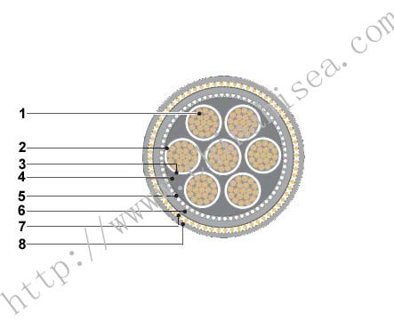 IEEE 1580 Type P 1kV Cold resistant Marine Power Cable construction.jpg