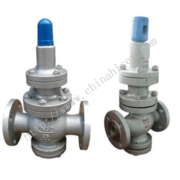Flange Type Reducing Pressure Valve In Factory
