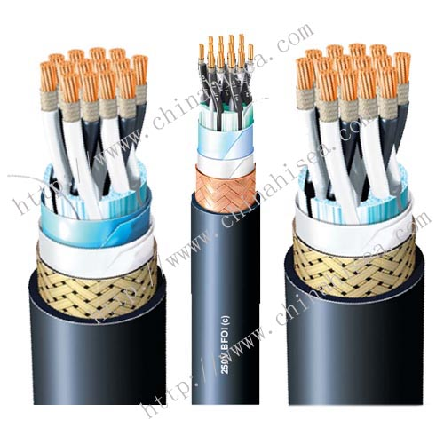 SFOI fire resistant instrumentation cable
