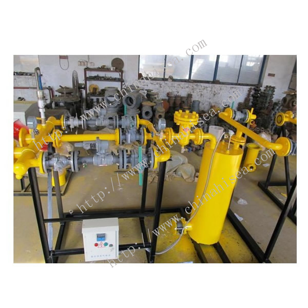 Natural Gas Pressure Regulating Valve In Factory