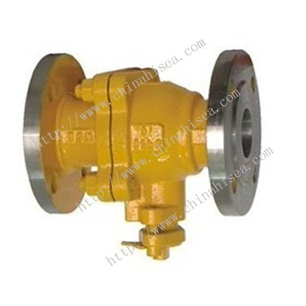 Natural Gas Ball Valve Vertical Way