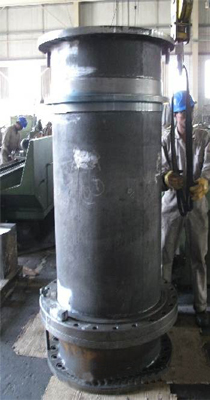 Dredge turning gland in the factory.jpg