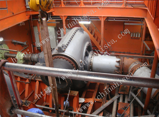 double-walled dredge pump on the dredger.jpg