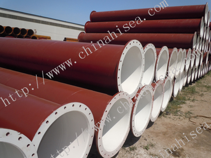 Dredging Spiral Steel Pipes