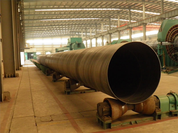 SSAW Dredging Steel Pipe in Workshop.jpg
