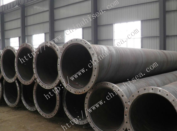 Spiral steel pipes used for dredging project.jpg
