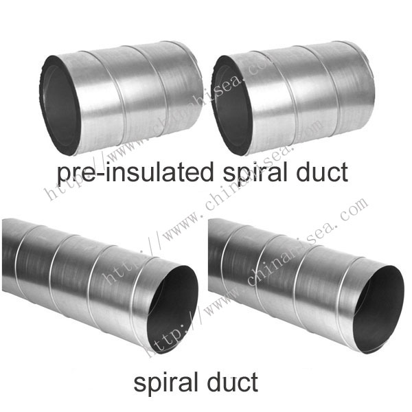 Spiral duct manufacturer hi sea group