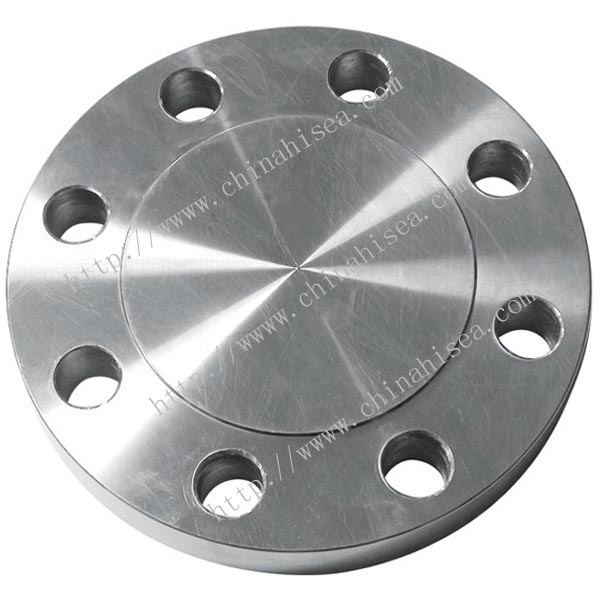 Class 300 stainless steel blind flange