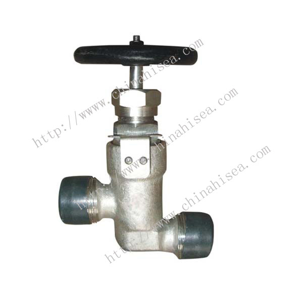Marine Male Thread Forged Steel Globe Valve GB/T594-1983