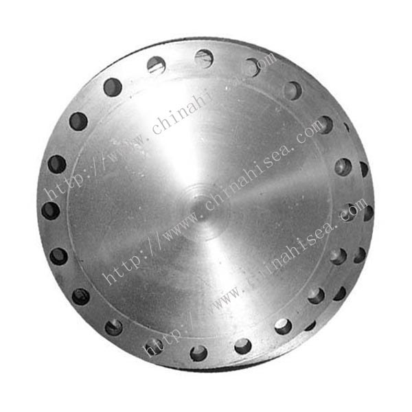 Class 600 stainless steel blind flange