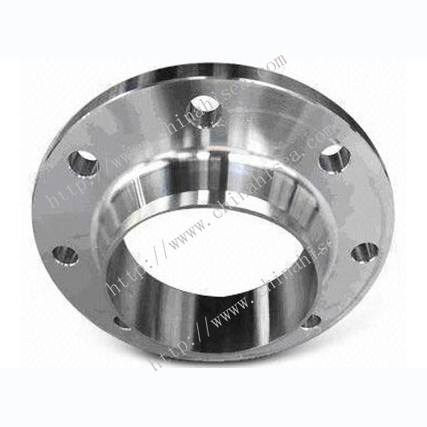 Class 600 stainless steel weld neck flange
